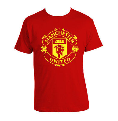 Manchester United T-shirt LOGO man utd F.C. Premier League T shirt