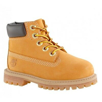 Timberland Nubuck 6-Inch Premium Boot Toddlers 12809 / Youths 12709 - WHEAT
