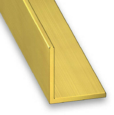 Brass Equal Angle 90 Degree Corner Trim - Various Sizes Available