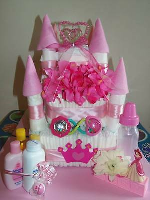 Castle Diaper Cake Princess or Prince