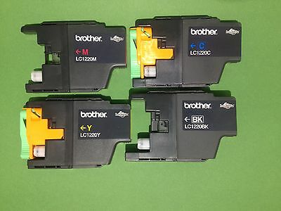 40x Brother LC-1220bk,c,m,y leer,leere Tintenpatrone,empty Brother ink cartridge