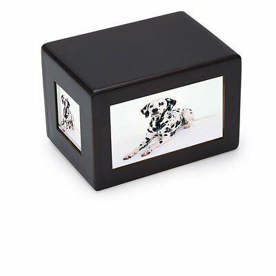 Pet Dog Cat Cremation Urn Peaceful Pet Memorial Keep Sake Urn Photo Box Caskets