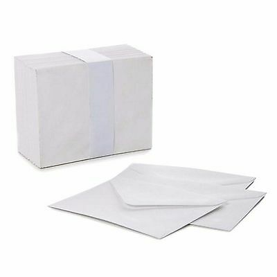30 Small C6 Envelopes White Envelope For Thank You Card RSVP Cards 11.4x16.2cm
