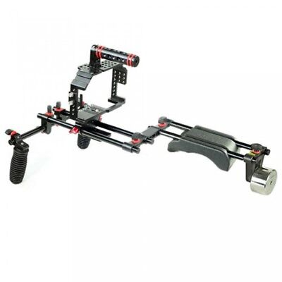 Filmcity Camera cage shoulder rig for Panasonic GH4/ GH3 Sony A7/A7r/A7s video