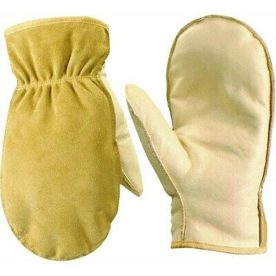 Insulated Leather Work Gloves by Wells Lamont Corp