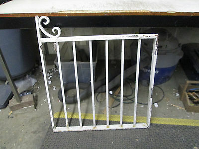 Vintage Heavy Iron Gate for Projects