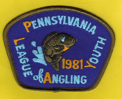 Pa Pennsylvania Fish Commission NEW 1981 Bluegill P.L.A.Y. Youth Fishing Patch
