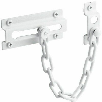 White Chain Door Lock,No U 9852,  PRIME LINE PRODUCTS