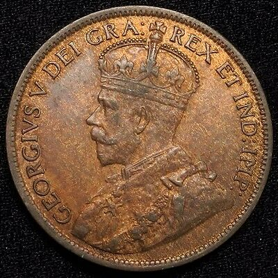 1916 Canada Large Cent 1C George V Key Date Better Grade
