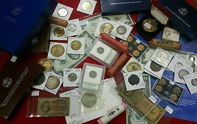 Iconic Coins and Currency Estate Lot - Great Collection!!!