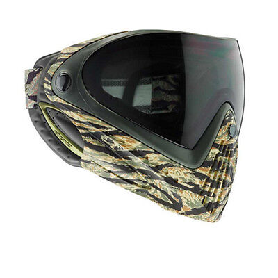 New Dye I4 Thermal Paintball Goggles Mask - Tiger Stripe