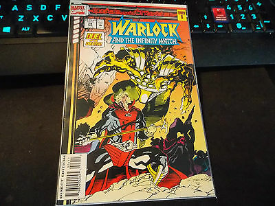 Marvel Comics - Warlock and the Infinity Watch #24/Blood and Thunder Part 8