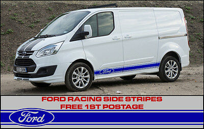 Ford Transit Custom Side Stripes Sport Racing Connect Racing