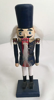 Wood Painted 7 1/2 inch Nutcracker