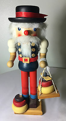 Wood Painted Nutcracker - Cheese Maker - Very Detailed