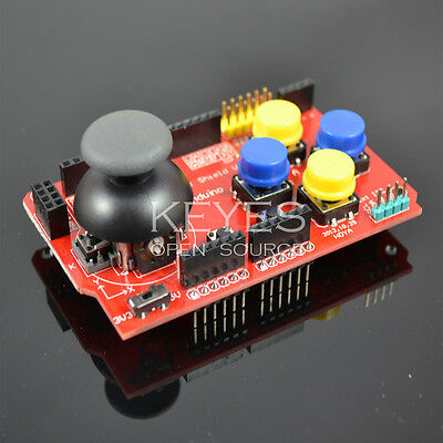 JoyStick Keypad Shield  PS2 For Robot Arduino UNO 2560 1280 R3 ARM