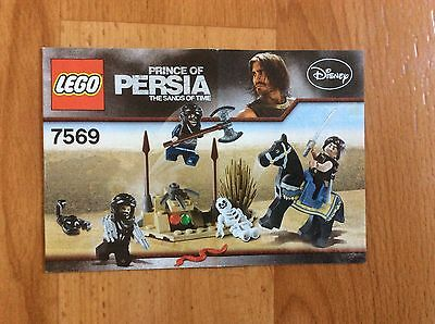 Lego Instructions for Prince Of Persia - The Sand of Time 7569