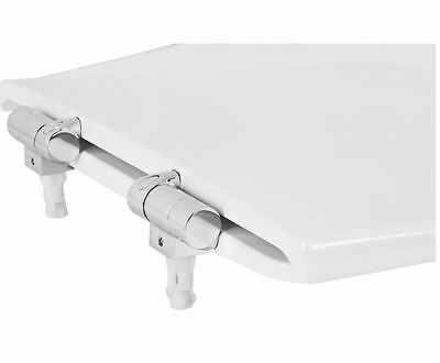 Roca Dama Senso Replacement WC Toilet Seat with Soft Closing Hinges 801511204