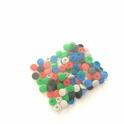 100pcs 5 color Round Switch Cap Hole Diameter 3.2mm For Tact Switches Button