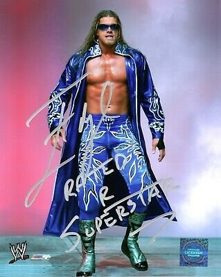 Edge Wwe Signed Photo Rated R Superstar Wrestling Promo With Proof & Coa