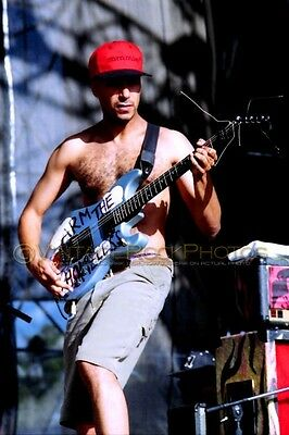 Tom Morello Photo Rage Against the Machine 8x12 or 8x10 in 1992 Lollapalooza 14