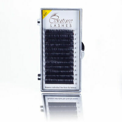 Couture lashes® 0.07 C or D CURL VOLUME 2D-9D Lashes- RUSSIAN VOLUME