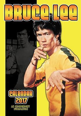 Bruce Lee 2017 Large A3 Poster Size Wall Calendar Brand New And Sealed