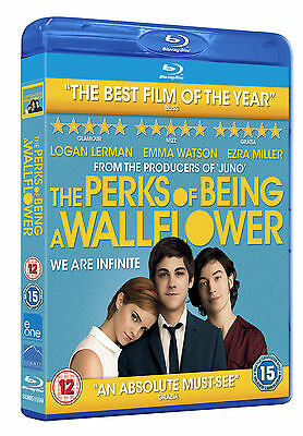 The Perks Of Being A Wallflower Blu Ray (Emma Watson) Disc Only