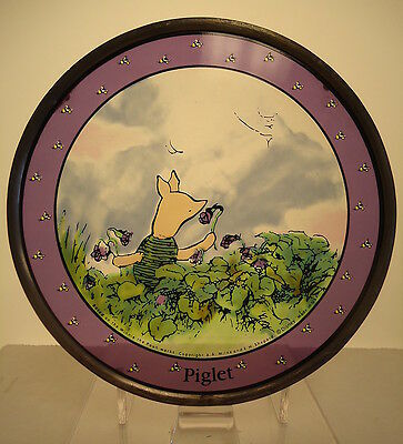 Glassmasters NOS Disney Piglet Art Glass 1990's RARE