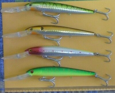 Rattling Barra Lures 4-Pack (includes Shipping & Free Gift)