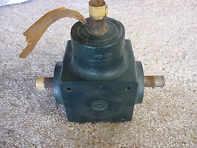 Grove Gear Rb110 Reducer  1 To 1
