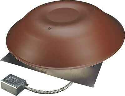 Roof Mount Pwr Vent 2000 Brown,No 2000BR,  Lomanco