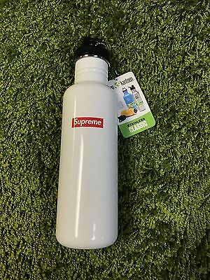 Supreme S/S 2016 Klean Kanteen Classic Water Bottle Stainless White Box Logo