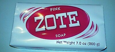 Zote pink laundry soap 10 bars for this price