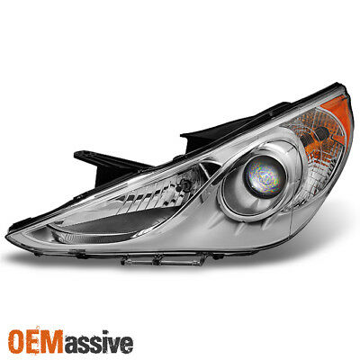 Fit 2011-2013 Sonata Headlight Driver Left Side Replacement 11 12 13 aftermarket