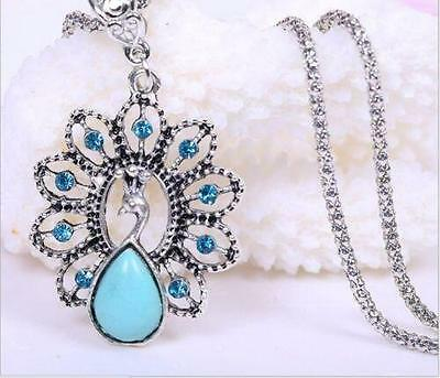Fashion Crystal Pendant Necklace Chain Bridal Prom Party Wedding Accessory 2015