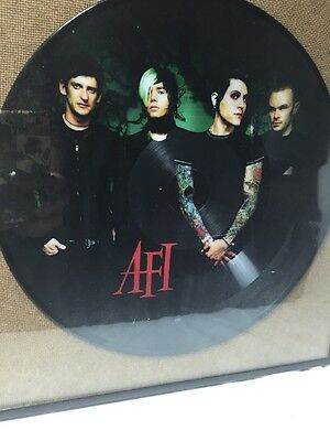 Afi Picture Vinyl Miss Murder In Frame Limited Addition