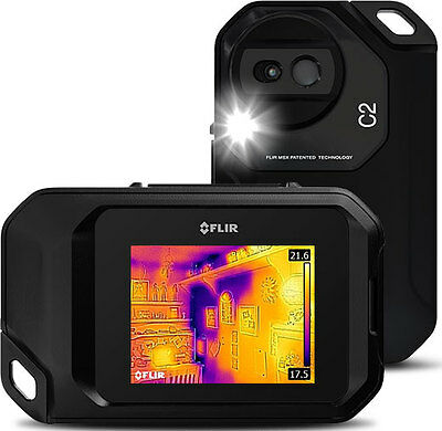 FLIR C2 Thermal Infra Red Camera with MSX & Free Case - Australian Distributor