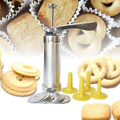 Cookie extruder Press Machine Biscuit Maker Cake Making Decorating Set MC
