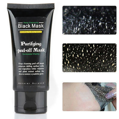 Purify Blackhead Peel Deep Cleaning Remover Black Mud Acne Treatment Face Mask