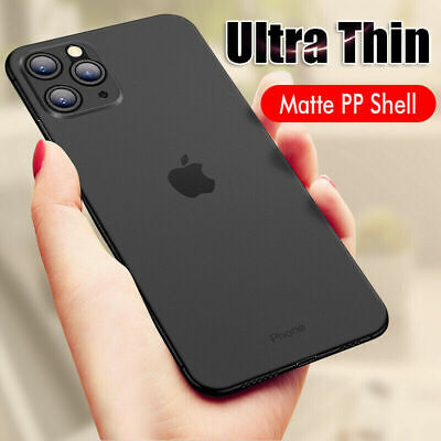 Ultra Thin Matte Transparent Hard Phone Case Cover For Apple iPhone X 8 6 7 Plus