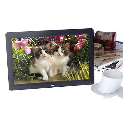 "Hot 10.1"" HD LCD Digital Photo Frame Alarm Video Player + Remote IB"