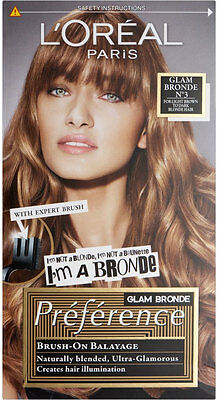 L'Oréal Paris Preference Glam Bronde - No3 Light Brown to Dark Blonde