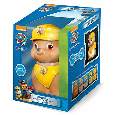 New Paw Patrol Colour Changing Led Light Rubble