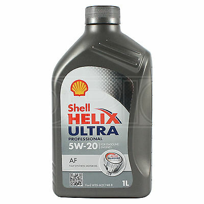Shell Helix Ultra Professional AF 5W-20 5W20 Fully Synthetic Engine Oil 1 Litre