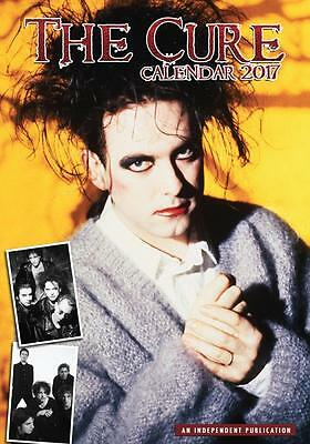 The Cure 2017 Large Poster Wall Calendar New & Sealed Free Uk Postage !!