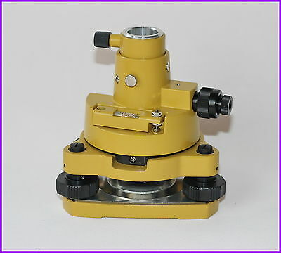 New Yellow Color Tribrach & Adapter W / Op Fits Prism Setup