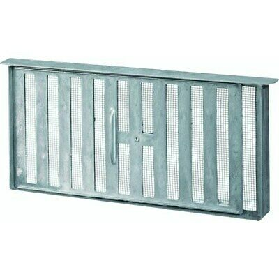 45 Sq In Free Area Aluminum Manual Foundation Vent,No 86159,  Air Vent Inc.