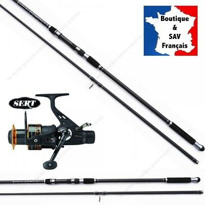 Pack Carpe Dark Night (5R) + Canne-Carbon Carp 13'