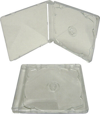 (5) CDBSIS-SUPER CD Super Jewel Boxes Trays Assembled Box & Tray Stackable NEW